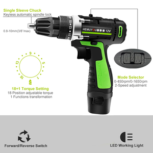 Image 2 - Screwdriver 12V 16.8V Cordless Electric Screwdriver Rechargeable Lithium Battery Dual Speed Cordless Drill Power Tools