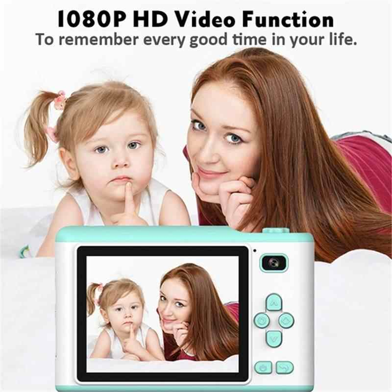 2.8 ''Touch Screen MINI เด็กกล้อง 1080P HD เด็กนาฬิกาดิจิตอลกันน้ำกล้องสมาร์ทดิจิตอลรองรับ TF Card USB