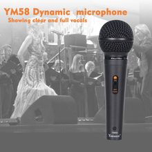 YARMEE High sound quality wired microphone party KTV recording universal protable  YM58
