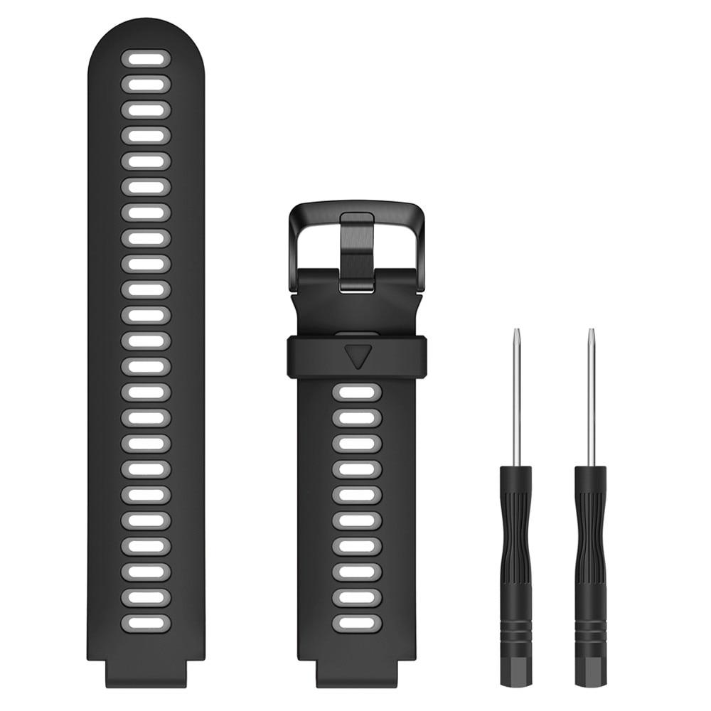 Sport Silicone Strap For Garmin Forerunner 735XT Watch Band Watch Strap Replace Garmin Forerunner 230/235/620/630/735XT Band