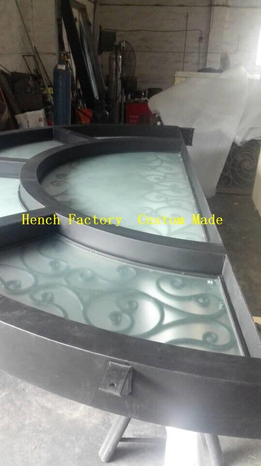 Shanghai Hench Brand China Factory 100% Custom Made Sale Australia Double Door Iron Gate