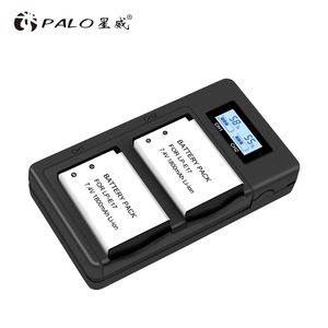 Image 5 - Palo LP E17 LPE17 Usb Lcd Dual Charger Batterij Lader Voor Canon Eos M3 750D 760D T6i T6s 8000D Kus X8i camera