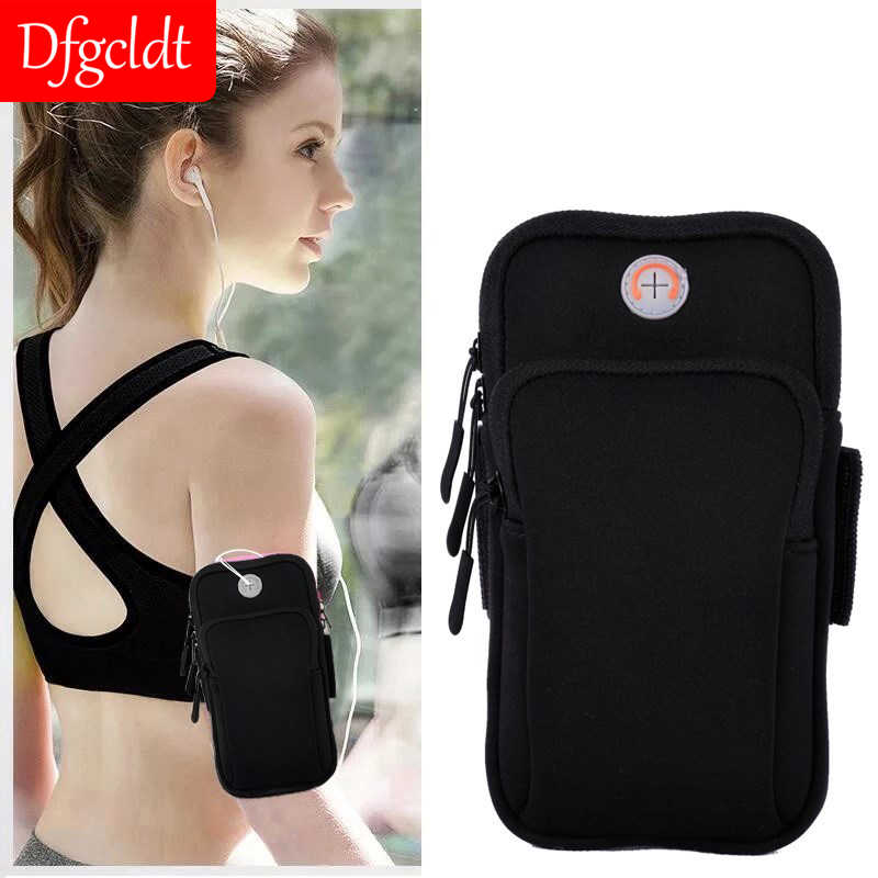 Running Sports Jogging Gym Arm Bag Armband Case Pouch Cell Phone Holder OutdoorL