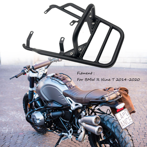 For BMW R Nine T RNineT Pure Racer Scrambler 2014-2020 Motorcycle Rear Seat Luggage Carrier Rack Fender Saddlebag Cargo Shelf