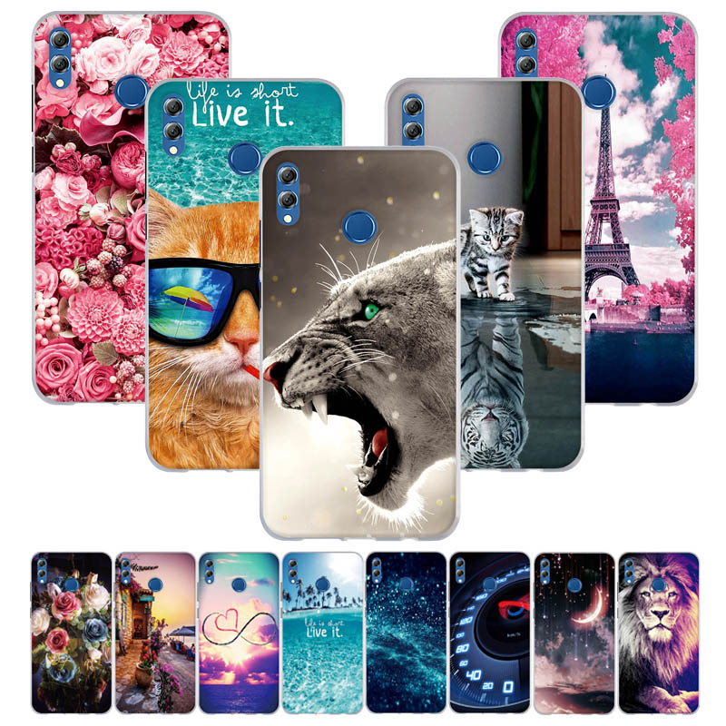 For Funda Huawei Honor 8X Max Case Soft Silicon 3d Cute Cover For Huawei Honor Enjoy Max Case Capa For Huawei Honor 8X Max Cover