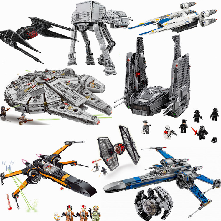 2019 NEW Star Wars Rancor Pit Destroyer Costruzion Tauntaun Warship Microfighters Building Block Toys Compatible With Legoingly