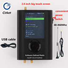 Battery Firmware Havoc Hackrf One-Sdr-Radio Portapack for Touch LCD Aluminum-Case Aluminum-Case