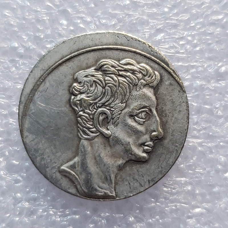 Roman COINS Copper Plated With Silver For Old Silver Dollar Silver Round Foreign Silver Dollar Antique Collection