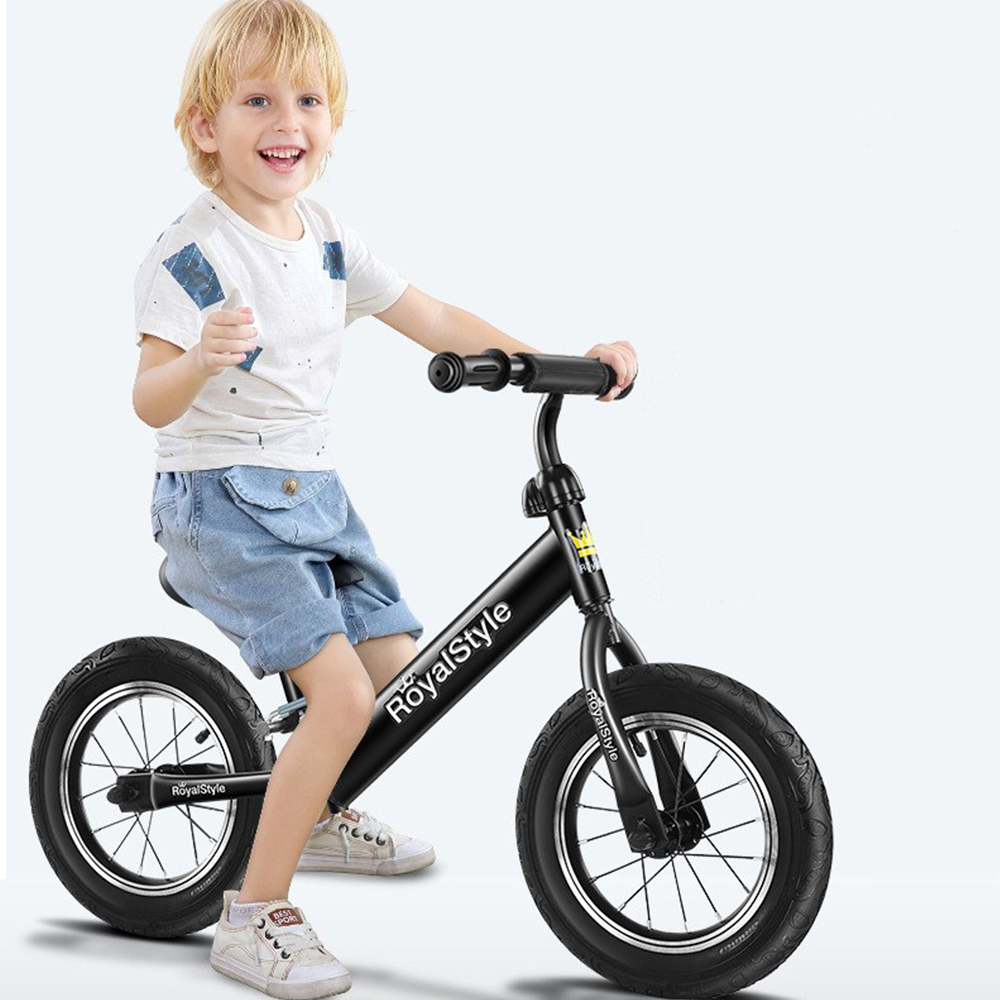 Aluminum Balance Bike For Kids And Toddlers Walking Bicycle No Pedal Sport Training Bicycle For Children Ages 2-6 Years Old