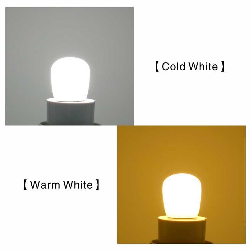 LED Frigo Lampadina E14 3W Frigorifero Del Cereale della lampadina di CA 220V HA CONDOTTO LA Lampada Bianco/bianco Caldo SMD2835 sostituire Alogena Lampadario Luci