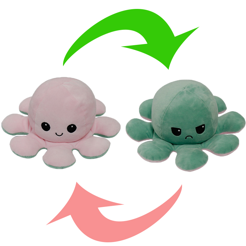 Reversible Octopus Stuffed Toy10