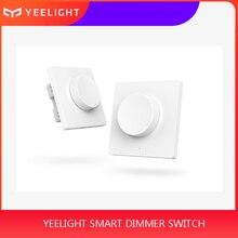 Original Xiaomi Mijia Yeelight Smart Dimmer Switch Intelligent adjustment Off light still work 5 in 1 control Smart switch