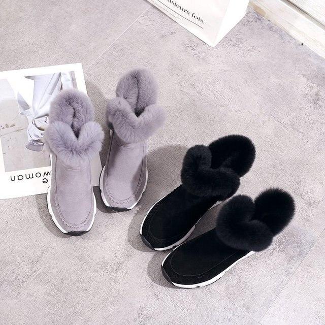 Купить mudibear/женские зимние ботинки женская повседневная обувь из картинки цена