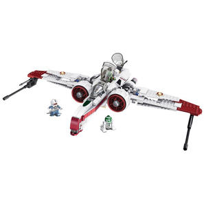 Toys Building-Blocks Legoed Clone Captain 35004 170 Starfighter P44 Assemble Wars Arc