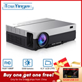 Touyinger T26L T26K 1080 P Led Full Hd Projector Video Beamer 5500 Lumen Fhd 3D Home Cinema Hdmi (Android 9.0 Wifi AC3 Optioneel)