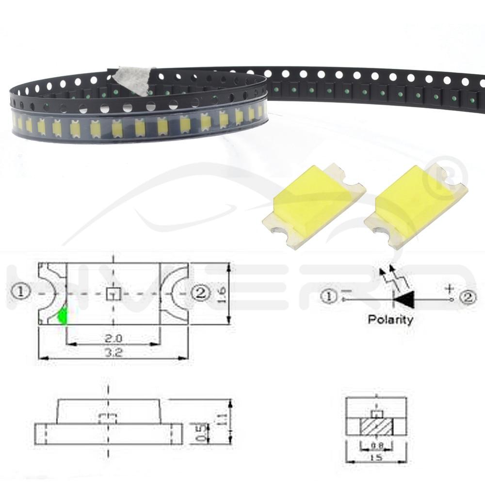 100Pcs//Set 3mm LED Light Emitting Diodes Reds Green White Blue Yellow 20mA S/&K