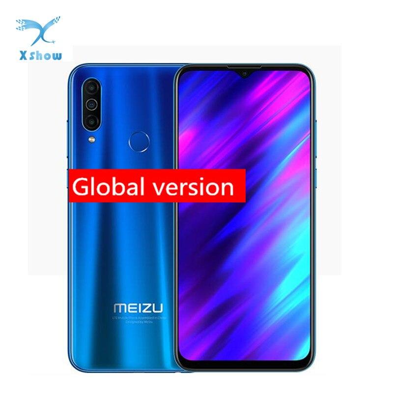 Глобальная версия Meizu M10 смартфон с 5,5-дюймовым дисплеем, восьмиядерным процессором MTK P25, ОЗУ 2 Гб, ПЗУ 32 ГБ, Android 6,5, 4000 мАч