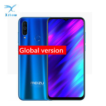 "Global Version Meizu M10 Mobile Phone 6.5"" 2GB/3GB 32GB MTK P25 Octa Core Triple Camera Android 4000mAh Big Battery Cell Phone"