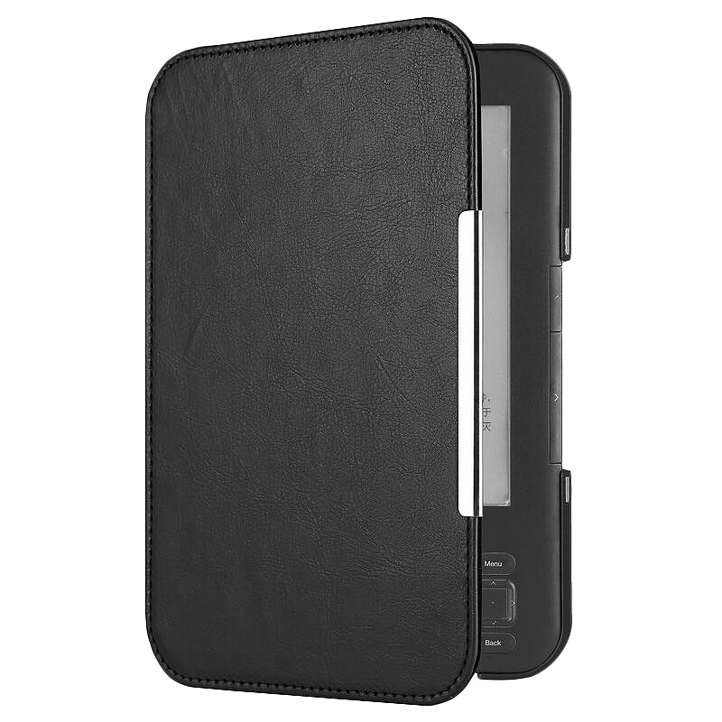 PU Leather Flip Folio Magnetic E-Book Cover For Amazon Kindle 3 3Rd Reader Keyboard Screen EReader Protective Case