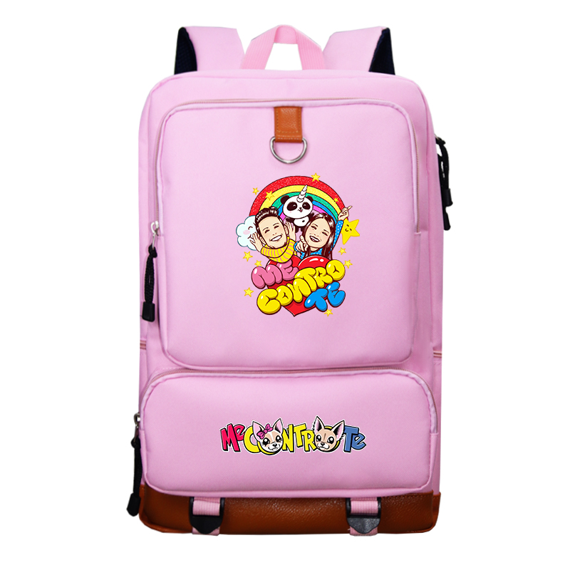 Me Contro Te Student Boys And Girls Casual High Quality Smiley Image Backpack Travel Backpack School Bag