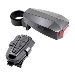 Luz da cauda traseira da bicicleta inteligente sensor anti-roubo alarme lanterna traseira 3 modos usb recarregável ciclismo piscando lâmpada