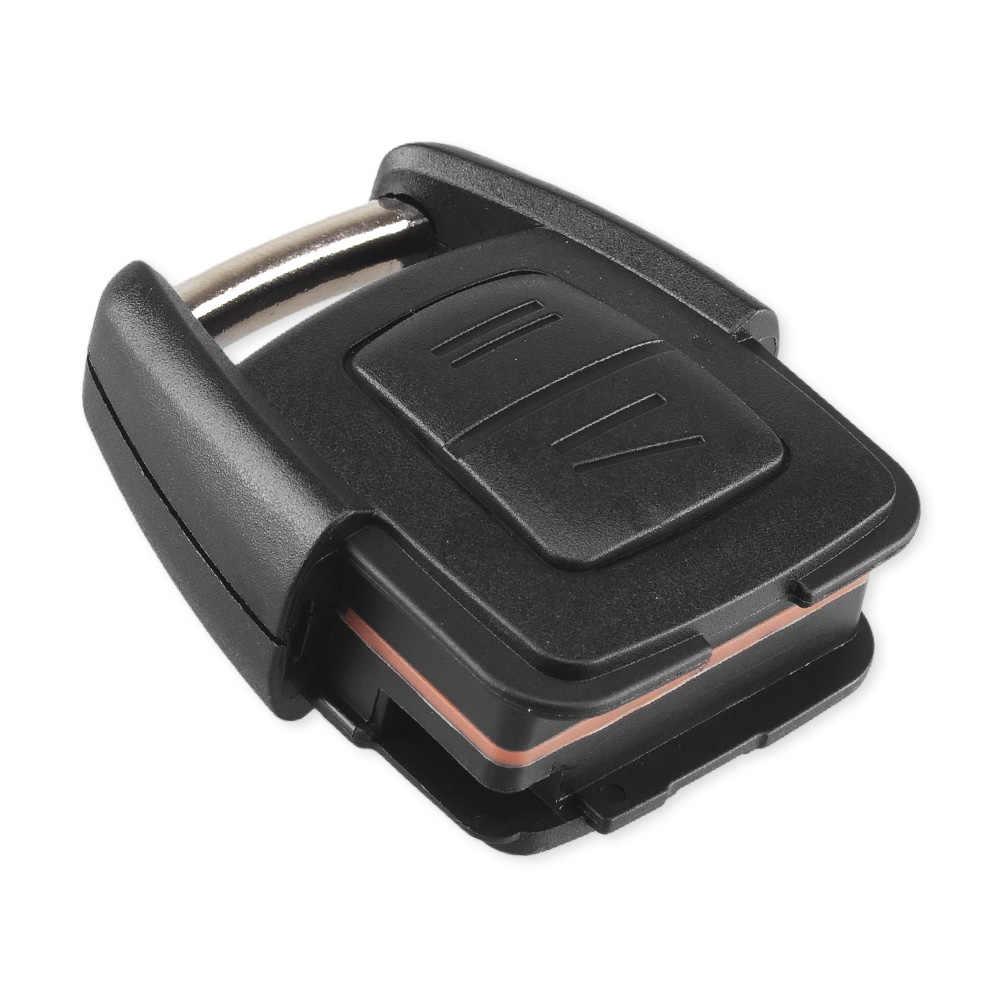 KEYYOU 2 boutons coquille de clé de voiture à distance pour Vauxhall Opel Astra Zafira Omega Vectra pas de puce lame non coupée voiture porte-clés étui bâche de voiture
