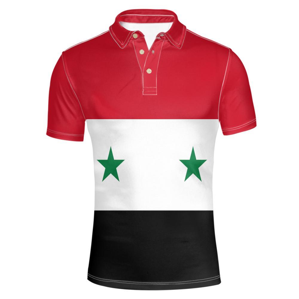 SYRIAN ARAB youth free custom photo name number syria syr Polo shirt nation flag islam sy arabic arab country college clothes