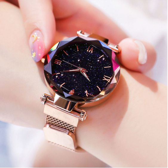 Women Watch Fashion Starry Sky Magnet Buckle Ladies Wrist Watch 2019 New Gift Clock Relogio Feminino Reloj Mujer Free Shipping