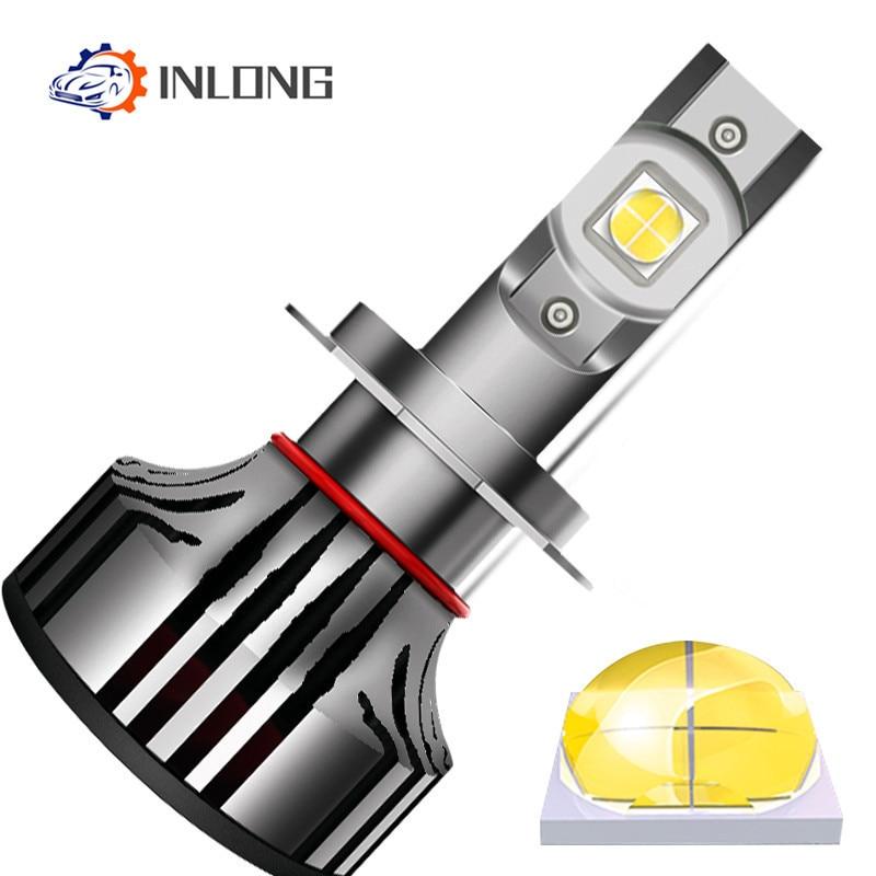 Antibrouillards Aucune Erreur h7 LED canbus H4 lampe à LED HB3 9005 LED Ampoule HB4 H1 9012 9006 Auto Phare 12V 6000K 12000LM 100w Antibrouillards