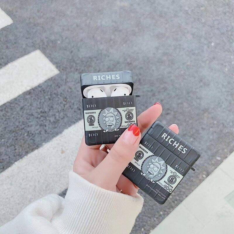 Rick Morty Dollar Earphone