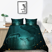 Skeleton Dragon Bedding Set King Size Fashionable