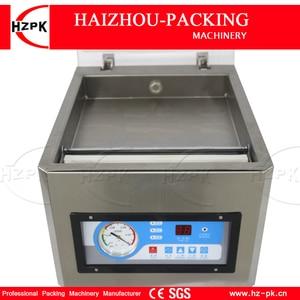 Image 5 - HZPK Machine à emballer sous vide automatique pour aliments de cuisine, en acier inoxydable, fermeture de sacs en plastique, chambre Stee, petite Machine à emballer sous vide DZ260