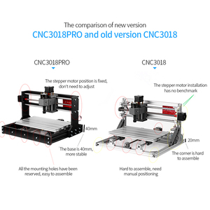 Image 3 - KKMOON 3018 Pro Incisione Laser Macchina GRBL ER11Control Macchina Per Incidere di CNC Router di Legno Con Offline Controller Asta di Prolunga