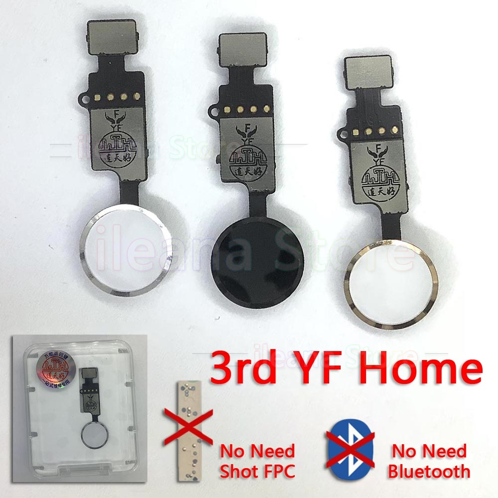 Universal Home Button Flex Cable For IPhone 7 8 Plus Restore Ordinary Return Functions Back Home Flex Replacement