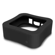 Pokrowiec ochronny kompatybilny z Apple TV 4K 5Th/4Th antypoślizgowa, odporna na wstrząsy pokrywa silikonowa