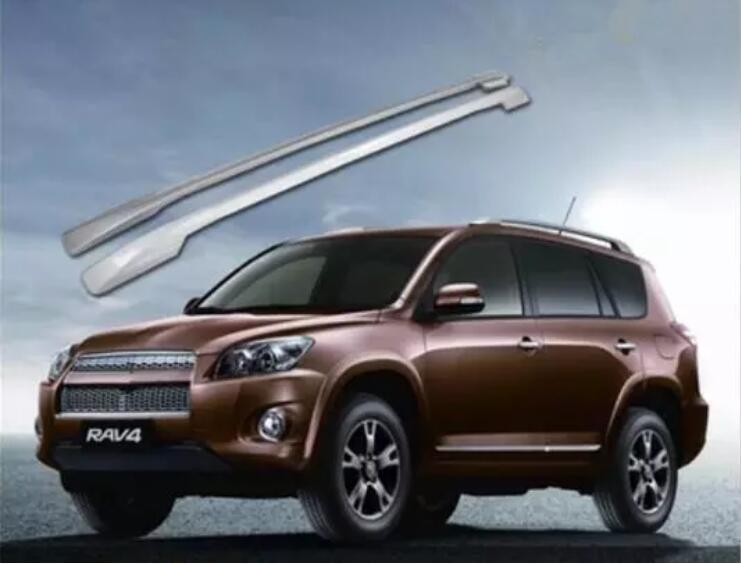Aluminum Alloy Car Roof Rack Rails Bar Luggage Carrier Bars top Cross bar Rack For Toyota RAV4 2009 2010 2011 2012 2013