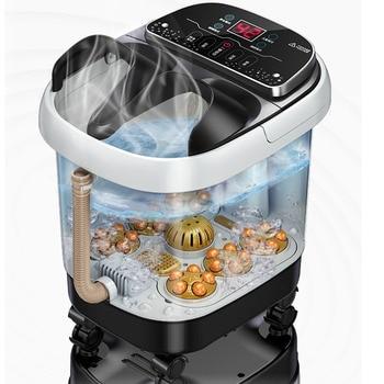Foot Bath Automatic Feet Soaking Electric Massage Constant Temperature Foot Bath  Foot Spa Hot Tub  Heated Foot Bath Adult Home