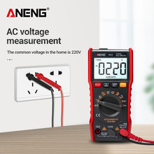 ANENG M20 Digital Multimeter 6000 counts tester esrmeter multimetro analogico digital profissional With Backlight AC/DC Ammeter