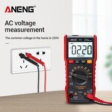 Multímetro Digital ANENG M20 6000 cuentas multimeter tester polimetro multimetro digital profissional medidor esr true rms multímetro digital probador voltímetro probador de batería multímetro probador