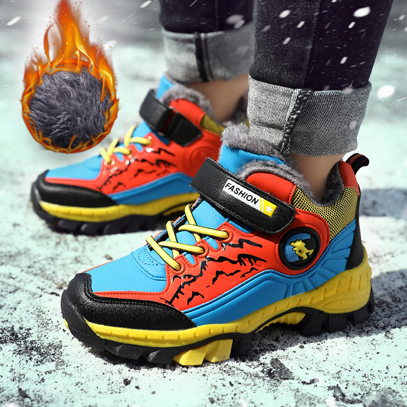 Winter Boots For Boys Snow Shoes Teenagers Children Hiking Shoes Walking Climbing Sneakers Kids Sneakers Shoes For Boys Shoes