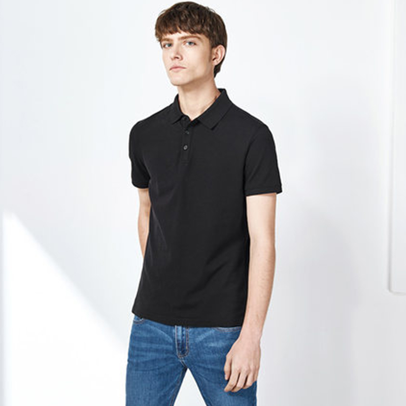 SEMIR Turn Down Collar Polo Shirt Men Summer New Half Sleeve Men Short-sleeved Trend Slim Man Business Casual Shirt