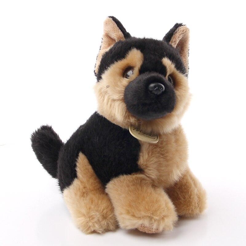 Игрушки Аврора, собака, порода с длинным шелковистым пальто, длинная плюшевая немецкая овчарка, забавная кукла, игрушки для детей, подарок н...