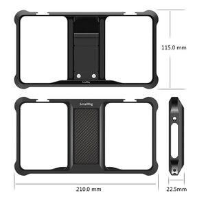 Image 4 - Smallrig Standaard Universele Mobiele Telefoon Kooi Vloggers Video Schieten Telefoon Kooi Accessoires Met Koud Shoe Mount  2391