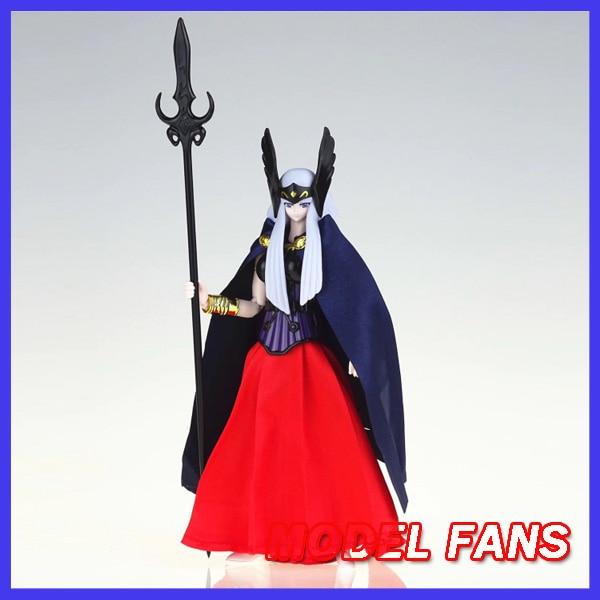 Фанаты моделей в наличии NT модель Saint Seiya Ткань Миф Поларис Hilda Hiruda содержит 2 платья экшн-фигурки игрушка подарок