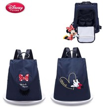 Disney New Ladies Bag Fashion Mommy Shoulder Large Capacity Pregnant Women Diaper Baby Change Storage