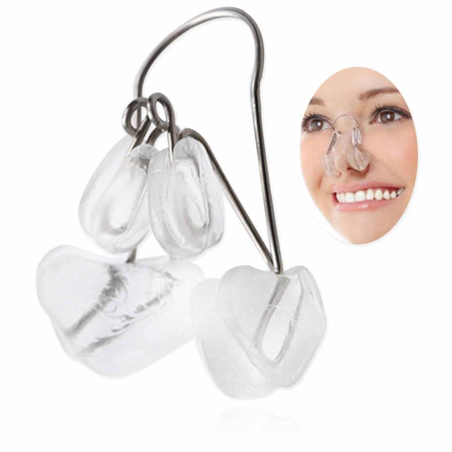 1 sztuk miękkiego silikonu nos most Reshaper klipy nos Up reduktor klip nos prostowanie korektor masażu twarzy narzędzie kształtujące
