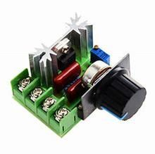 цена на AC 220V 2000W SCR Voltage Regulator Dimming Motor Speed Controller Thermostat Dimmers Electronic Voltage Regulators Module