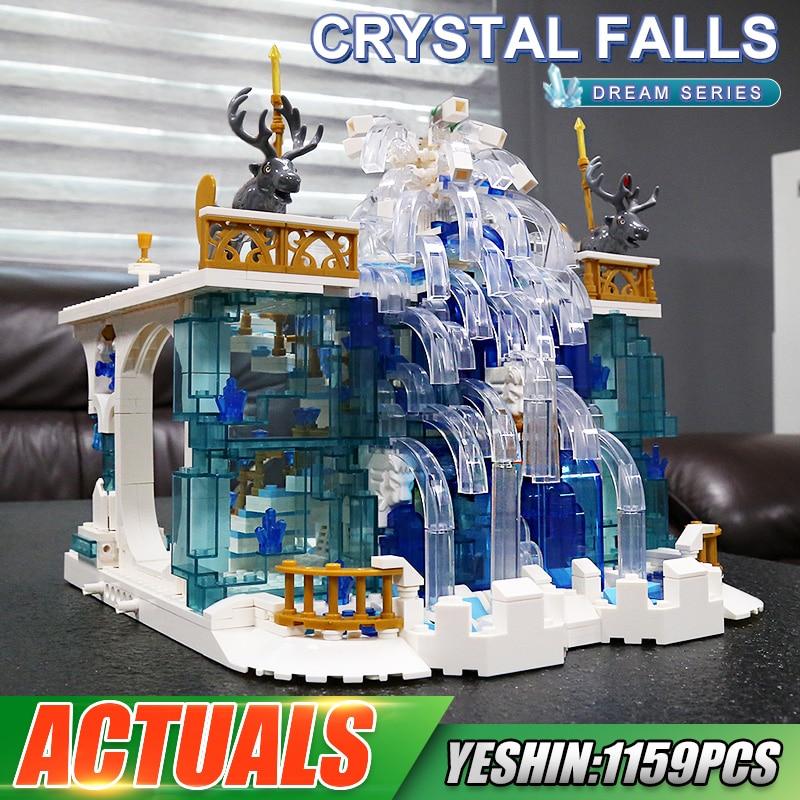 MOULD KING 11009 The MOC Crystal Falls Model Building Blocks