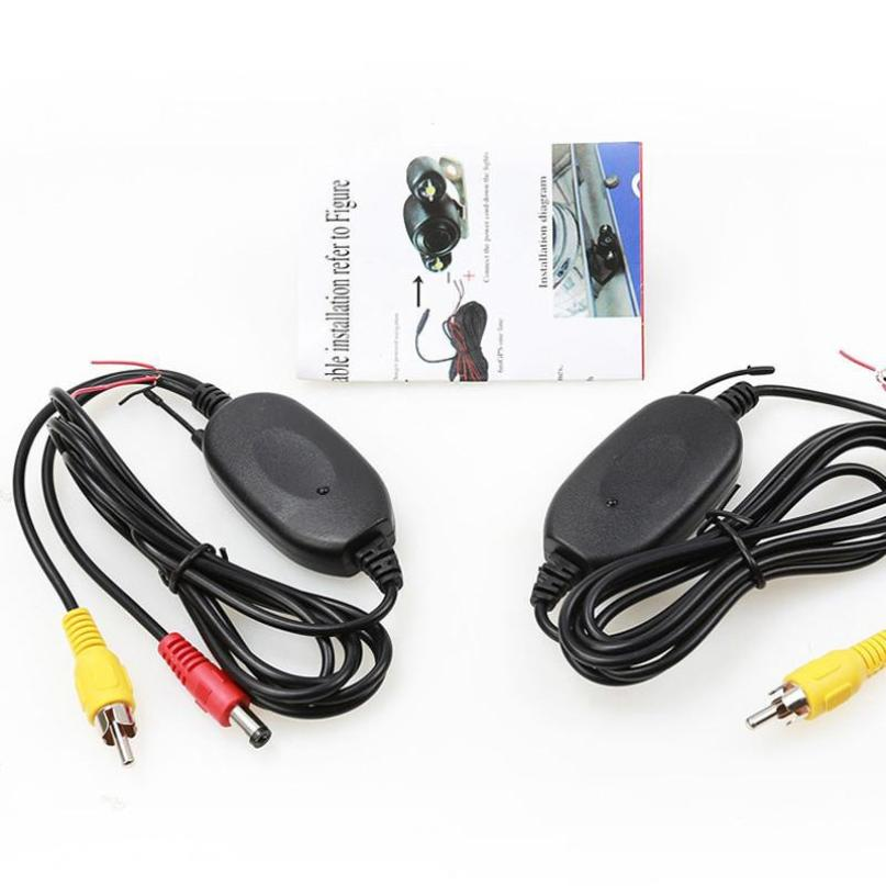 2,4 ГГц беспроводной передатчик и приемник удобный разъем для камеры заднего вида монитор видео и рекордер вождения