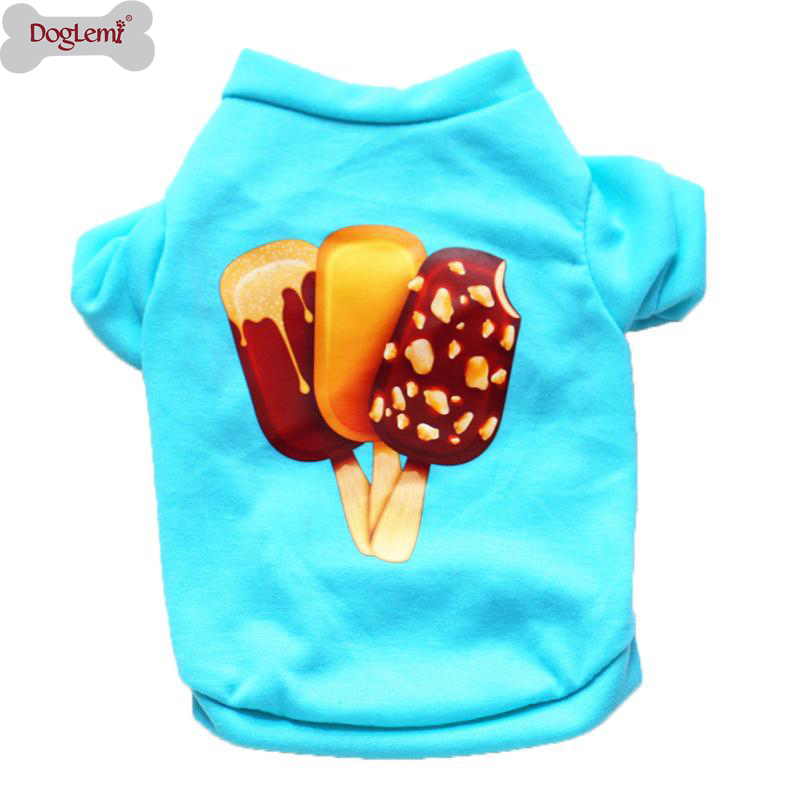 Dog Clothes Cotton Pet Puppy Summer Shirt Small Dog Cat Pet Clothes Vest T Shirt Vest Pet Clothing For Small Dog